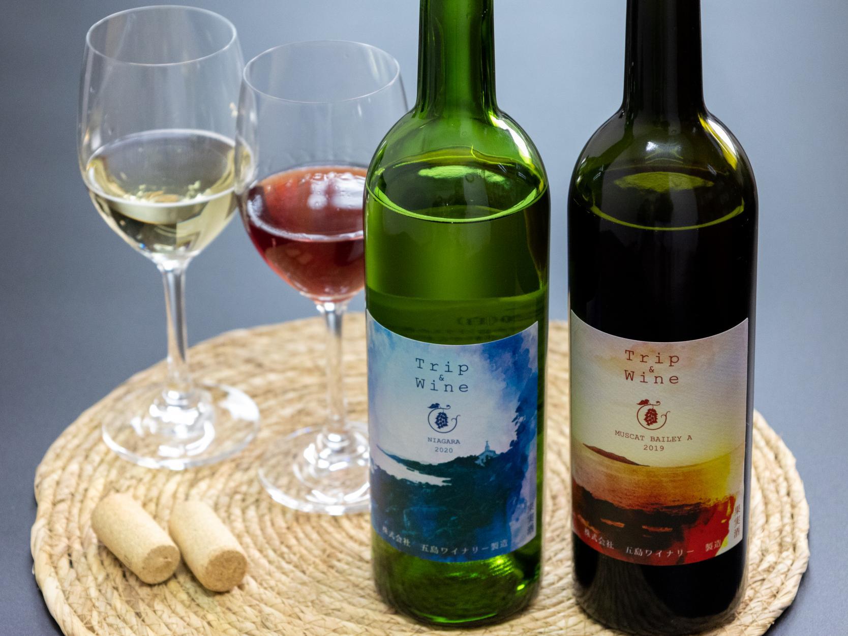 島産の焼酎とワインでまずは乾杯!-1