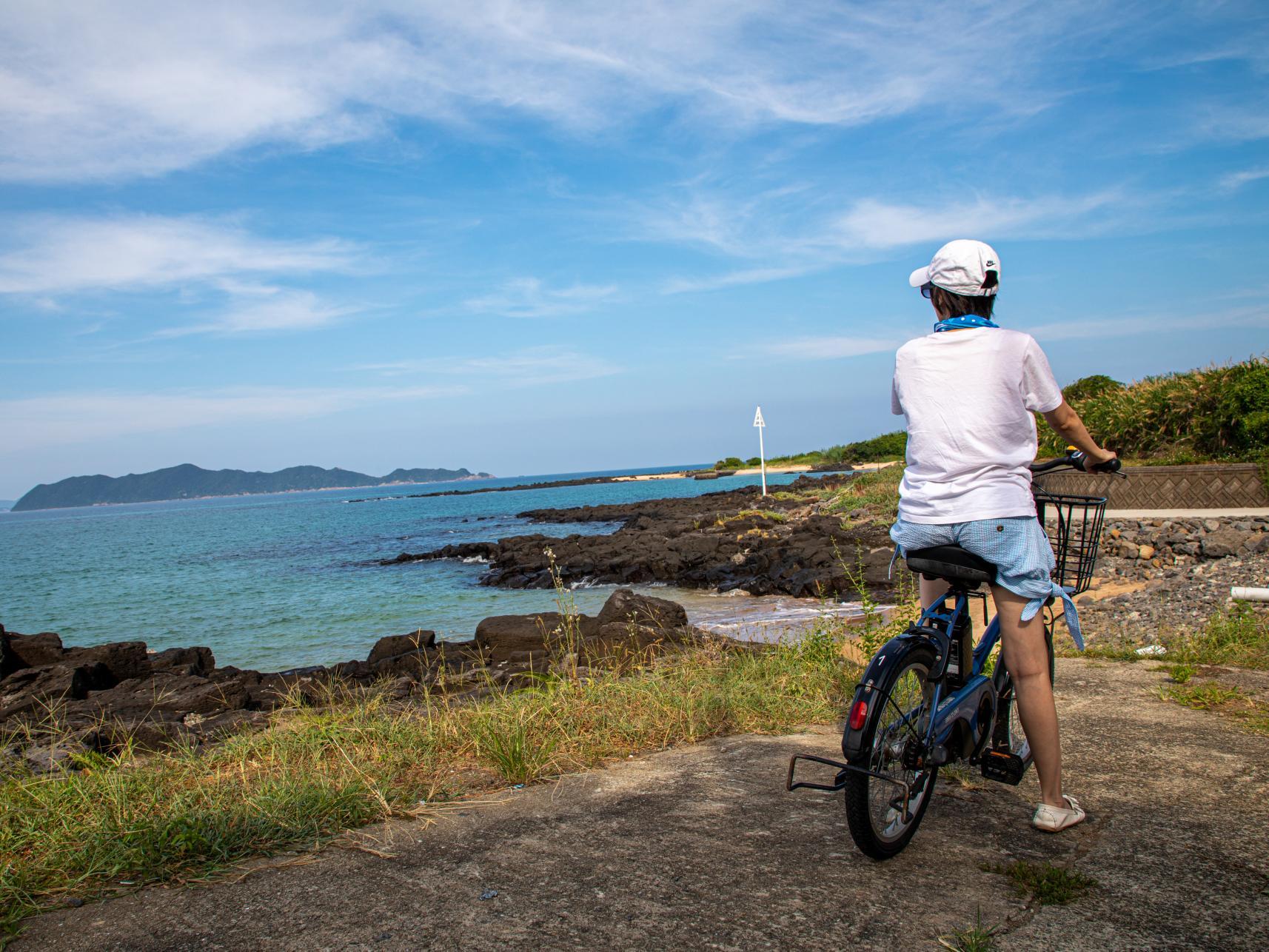 エコで手軽なサイクリングで島内めぐりを満喫-0
