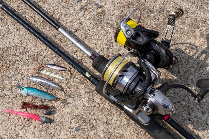 不意の大物に注意!ライトルアーを使った五目釣りに挑戦-1