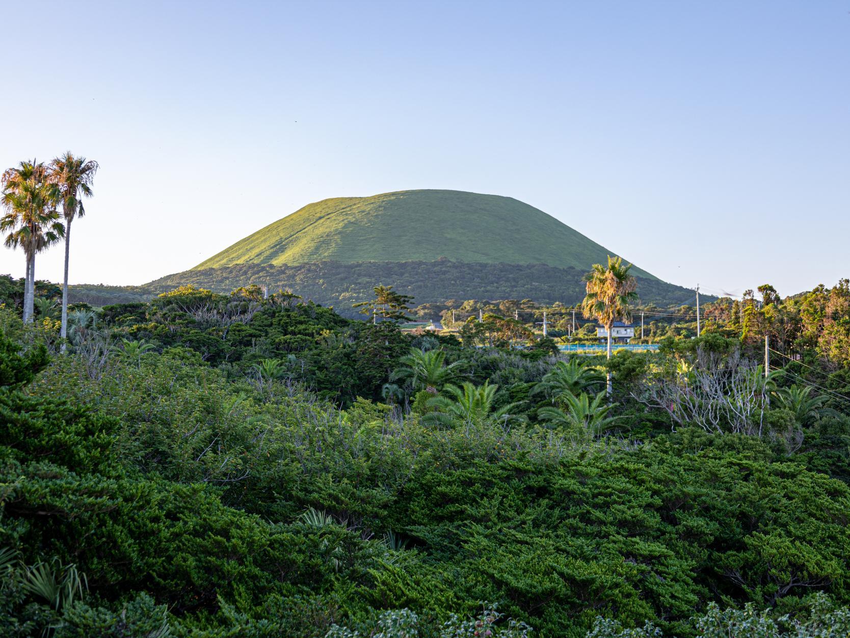 五島のシンボル、鬼岳コース-0