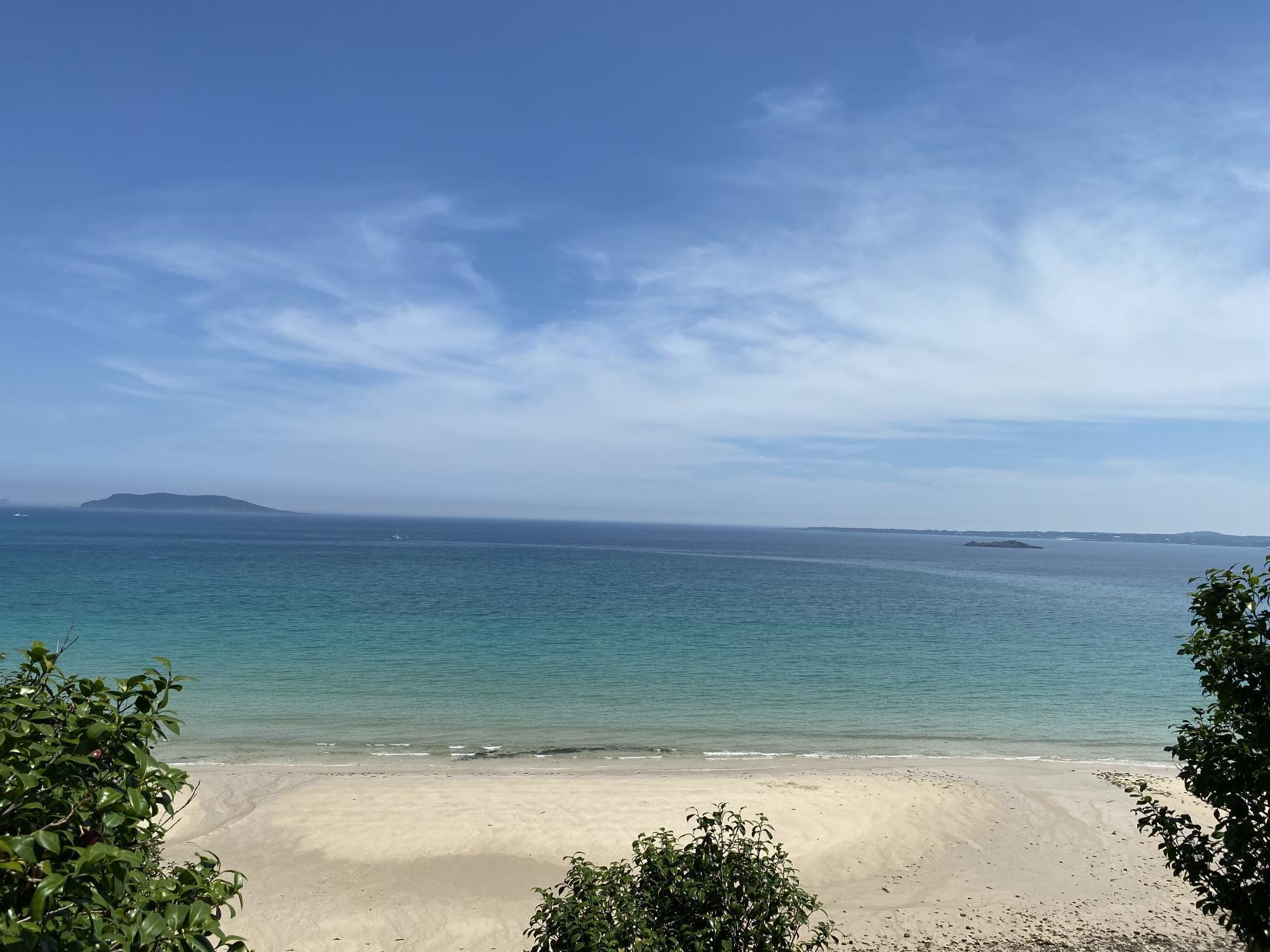 鬼岳と香珠子(こうじゅし)ビーチの絶景コース-0