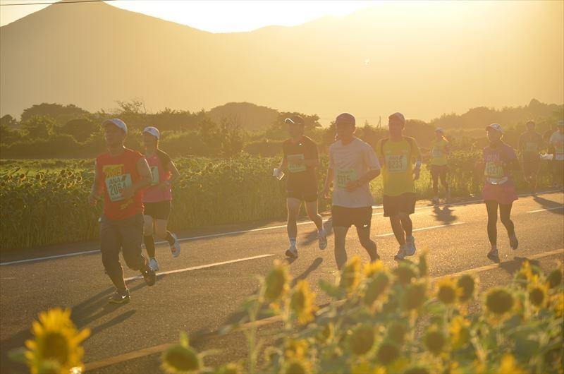 五島列島夕やけマラソン大会-2