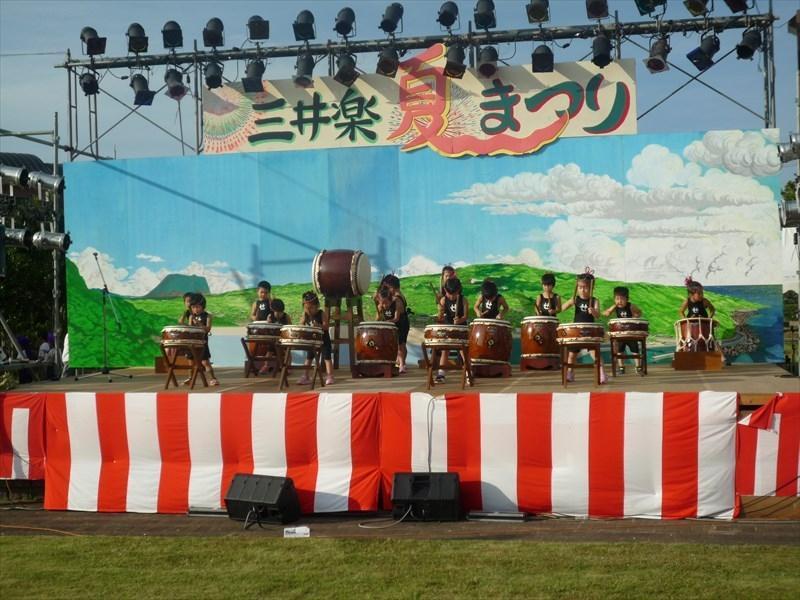 三井楽夏まつり-1