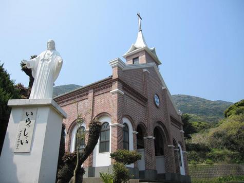 井持浦教会とルルド-1