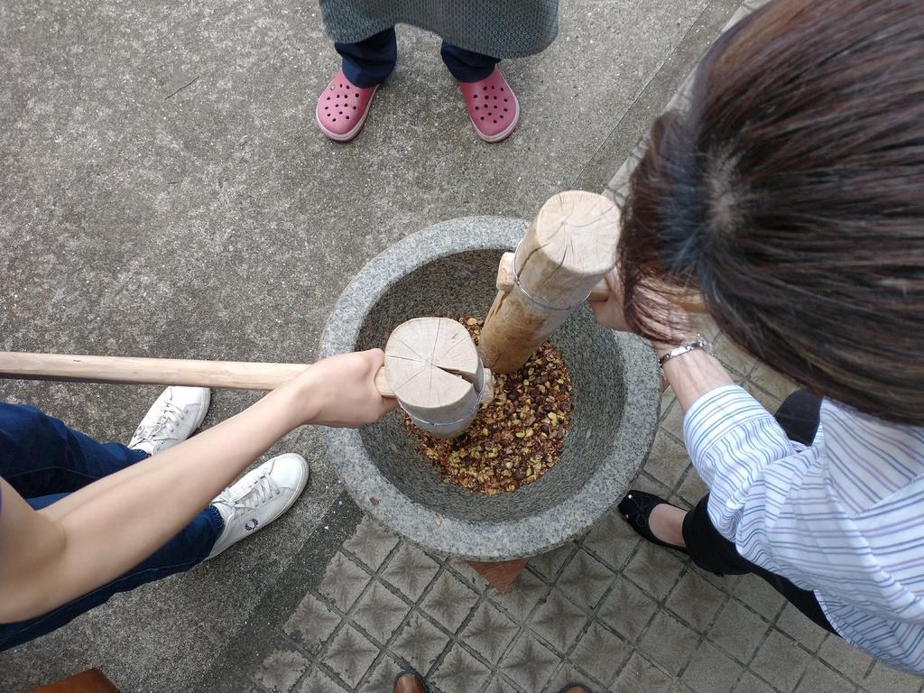 椿油作り体験-2